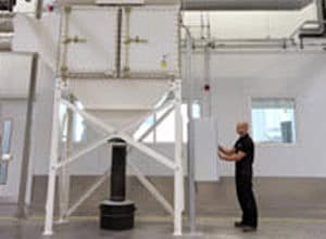 dust extraction - western air ducts