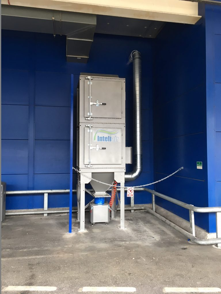 Dust Extraction For Ikea Western Air Ducts Uk Ltd